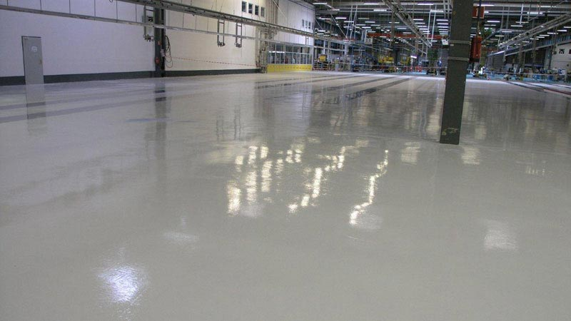 Industrial floor systems