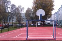Polyurethane sports fields (2/3)