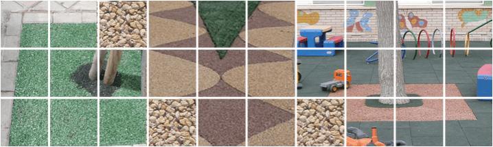 Stone carpet