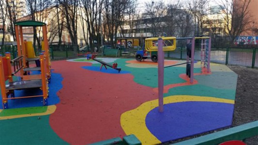 plac zabaw w Krakowie