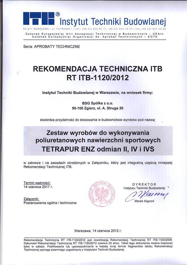 Documents, certificate - Eurogoma