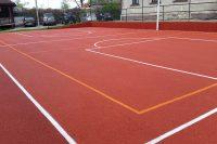 Polyurethane sports fields (1/3)